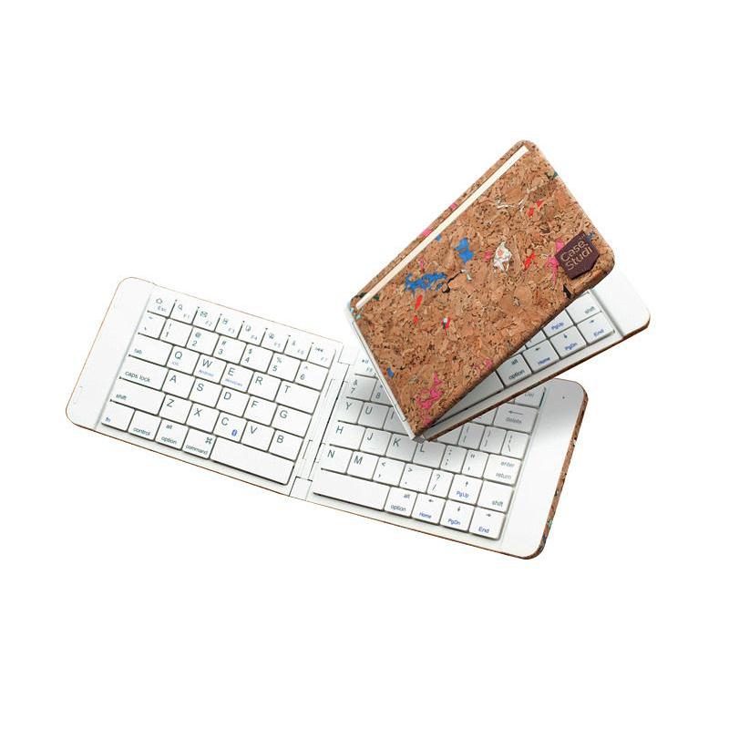 折叠键盘迷你蓝牙便携式键盘通用可折叠无线外苹果ipad 安卓手机