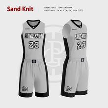 Sandknit Sunnet Basketball Suit Men's Custom Match Suit Men's Basketball Suit Summer 2019