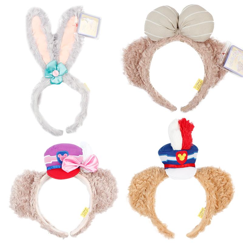 耳朵拍照发迪斯尼达菲熊stellalou黛拉芭蕾兔可爱兔发箍头箍