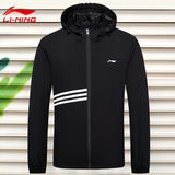 Li Ning jacket men's 2019 new autumn and winter new men's outdoor casual sports jacket hood fashion jacket