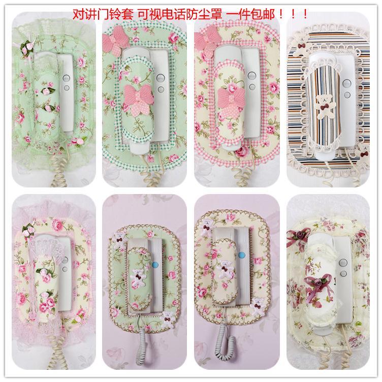 挂机门口家居房子装饰罩韩式对讲新品门铃装饰套贴高档墙壁门铃套