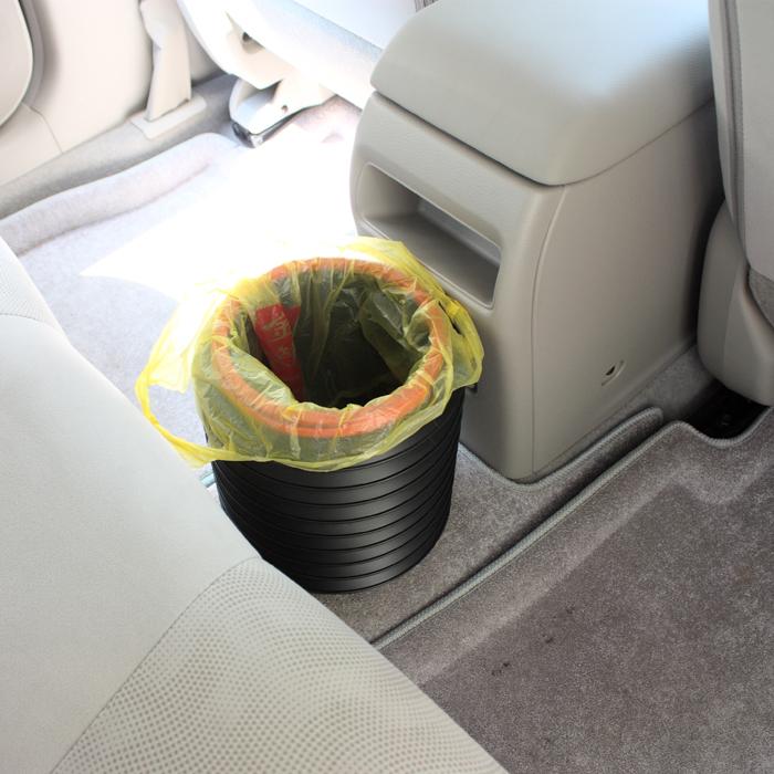 汽车折叠便携式水桶车用洗车多功能伸缩盒收纳魔术雨伞垃圾桶用品