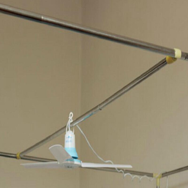 家纺学生蚊帐不锈钢支架挂风扇用横杆支架风扇横杆90cm其他