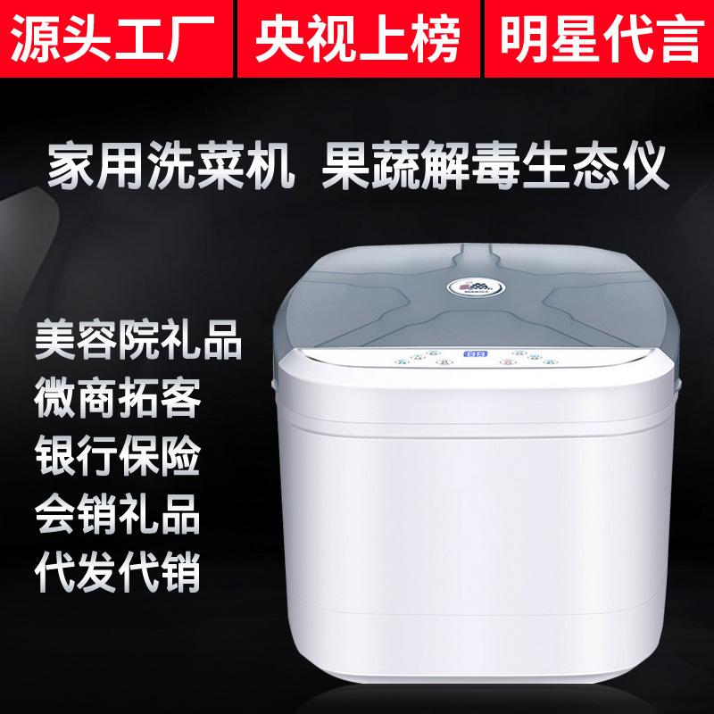 家用全自动洗菜机 果化器美容院礼品直销解毒机  多功能食材净