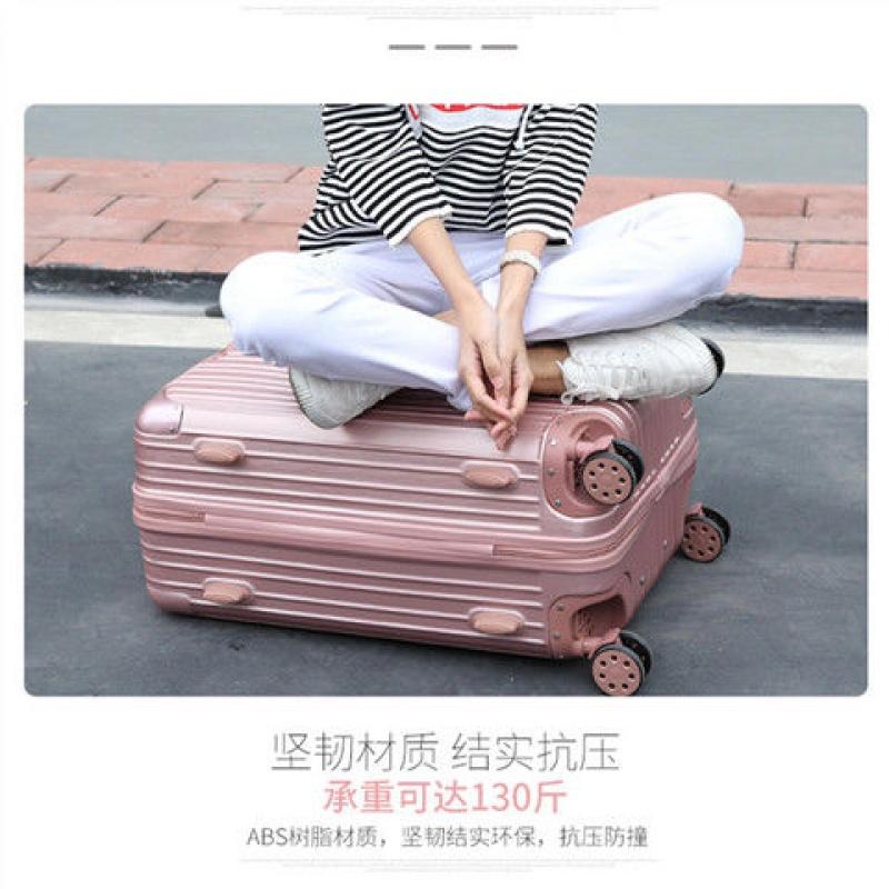 万向轮拉杆行李箱26寸密码旅行箱包男女可爱潮流学生登机箱子28寸