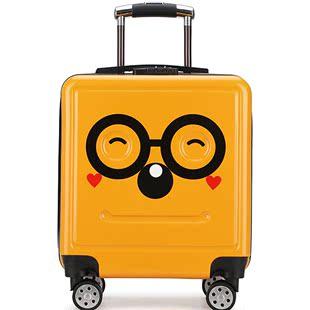 瘋搶兒童卡通拉桿旅行小孩20寸萬向輪行李登機男女寶寶箱