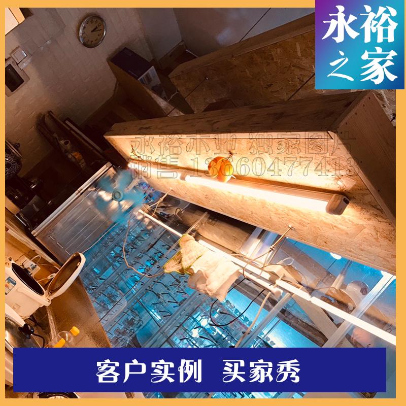 18mm国产园方欧松厅书店整块板麦秸板酒吧咖啡板OSBE0级定向刨
