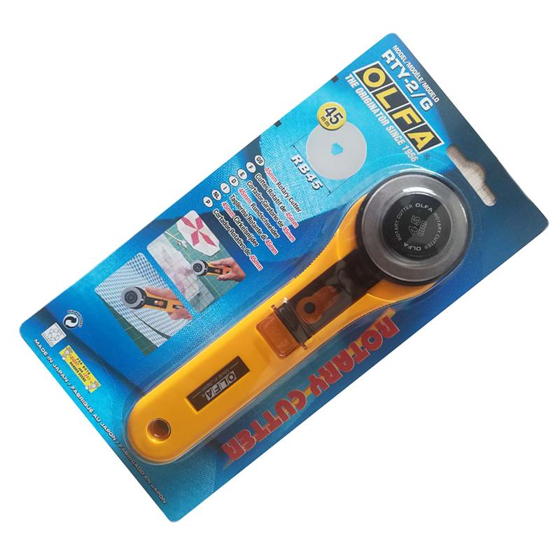 皮筋轮刀滚刀rty-2/c轮刀45mm圆刀片包邮日本进口olfa