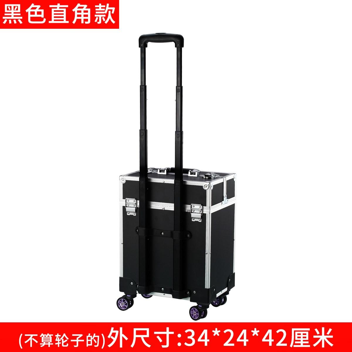 带轮拉杆工具箱多功能家具安装维修箱五金手拉式大号行李箱移动车