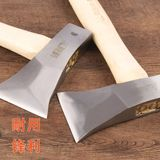 Axe Tomahawk logging all steel carpenter axe special small chopping wood home outdoor mountain wood