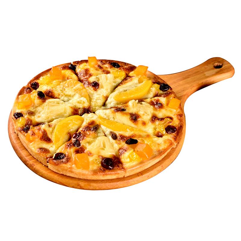 美焕食品水果披萨加热即食9寸350g匹萨披萨饼底烘焙原料速食