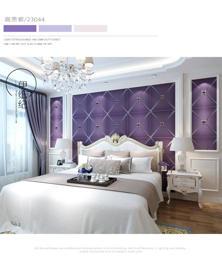 现代简约欧式奢华大气墙客厅卧室鹿皮绒壁纸加厚3d立墙纸电视背景
