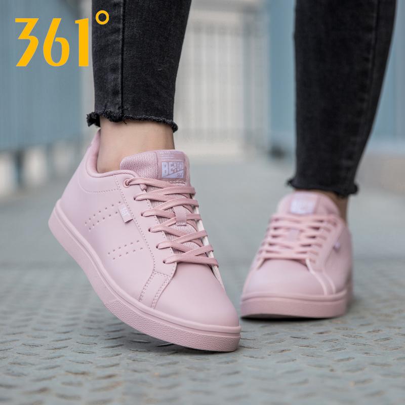 361女鞋运动鞋2019新款官网夏季小白鞋361度秋季休闲鞋子白色板鞋