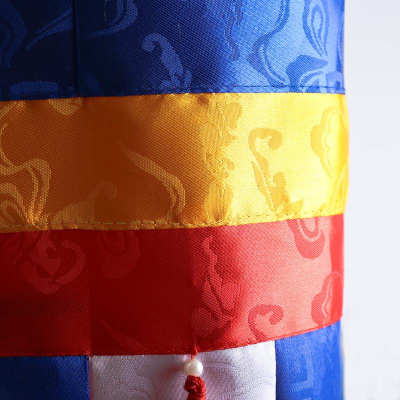 胜利宝幢藏传佛教用品寺院法会居家佛堂供佛装饰胜利撞幢帆高56cm
