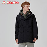 KAPPA Kapa Men's Cold-proof Clothing, Cotton Jacket, Cotton Clothing, Middle and Long K0852MM37