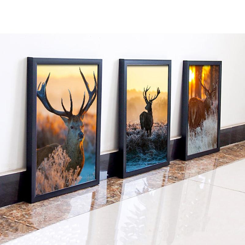 装饰画客厅沙发背景照片墙卧室壁画挂画有框组合玄关餐厅墙画