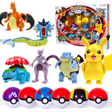 SC Johnson Pokémon Pokemon Spitfire Dragon Super Dream than Pikachu Shuijian Tortoise Boy and Girl Toy Egg Set