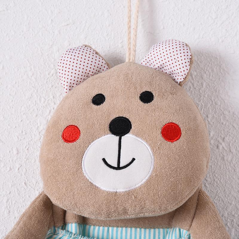 后衣橱悬挂式收纳袋包邮韩国卡通小熊挂袋 墙挂式收纳袋多层 门