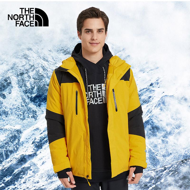 TheNorthFace北面1996羽绒服男Gore-Tex防水保暖三合一冲锋衣46GH