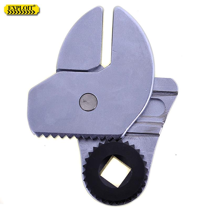 开拓 台湾制造1/2寸棘轮式活动扳手头 可调式活口扳手头 222565