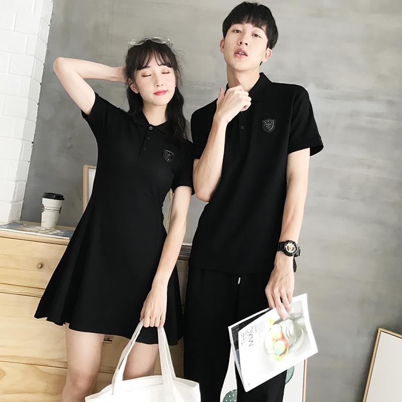 气质短袖夏装连衣裙