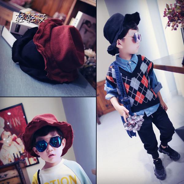 男童毛帽子