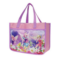 Disney Snow White pupils 1-6 grade boys and girls tutorial bag Portable storage bag information bag