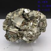 特价 黄铁矿原石摆件天然水晶立方体矿标奇石矿物晶体收藏标本