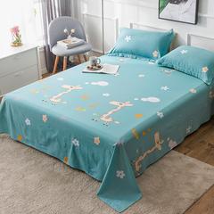 棉单人床单