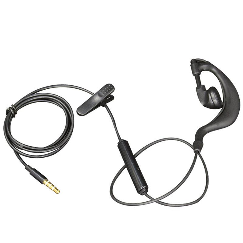 驾驶员单边耳机单耳单线入耳式耳挂式挂耳式手机有线控带麦联浦 E