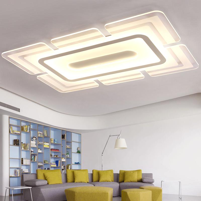 1.2米超薄大厅灯现代时尚简约大气长方形客厅灯创意卧室led吸顶灯