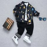 Boys jacket spring 2019 new children's baseball uniform children's clothing spring and autumn jacket jacket casual Korean version of the small children's tide