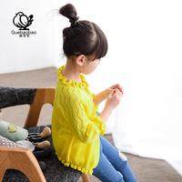 女童针织衫开衫