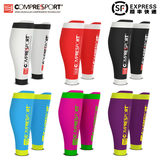 Compressport r2 leggings compression leg sleeve female running calf sleeve cs leg guard men's marathon sports socks