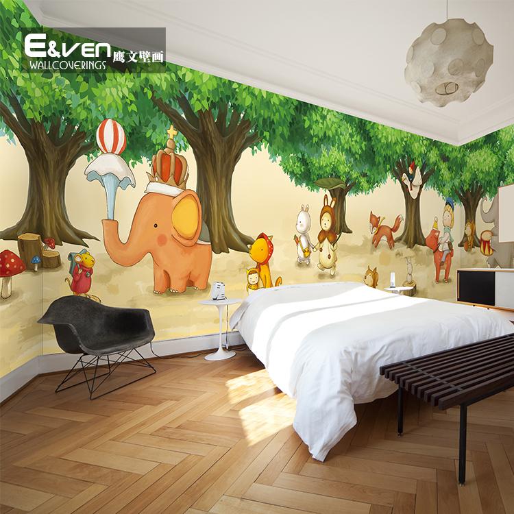 动物森林大型壁画