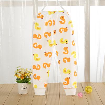宝宝秋裤纯棉儿童单条裤子可开档男童1-2-3-4-5岁女童全棉打底裤