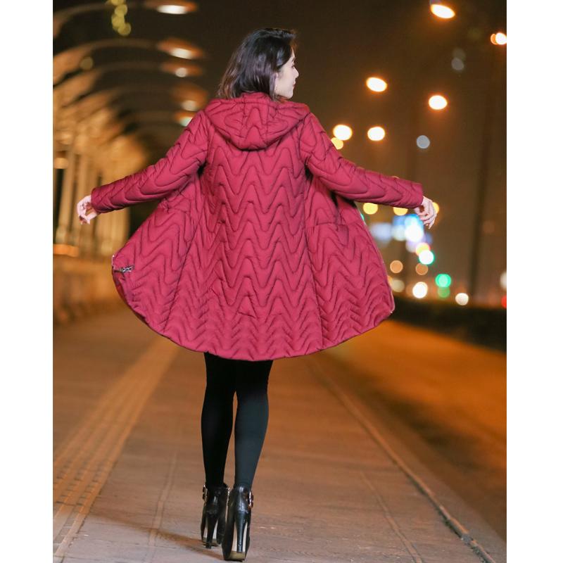 羽绒棉袄女2018新款潮棉衣服女中长款反季棉服女冬外套东大门过膝