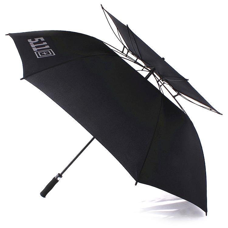 511雨伞美国5.11正品长柄男士超大美国j军工超大号大雨伞加固双层图片
