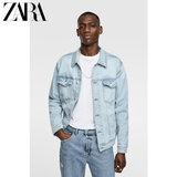 ZARA 新款 男装 基本款牛仔夹克外套 04454322406