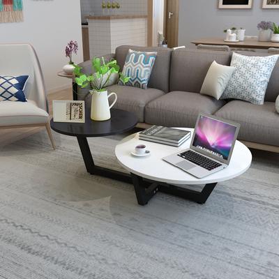 北欧茶几现代简约客厅小户型迷你欧式创意个性咖啡桌简易圆形桌子哪里购买