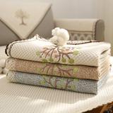 沙发垫布艺棉麻四季通用防滑定做坐垫简约现代沙发套罩全盖靠背巾