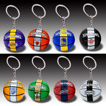 Warriors Knight rocket Spurs bull Lakers basketball key buckle Clippers thunder Forest wolf bag Pendant