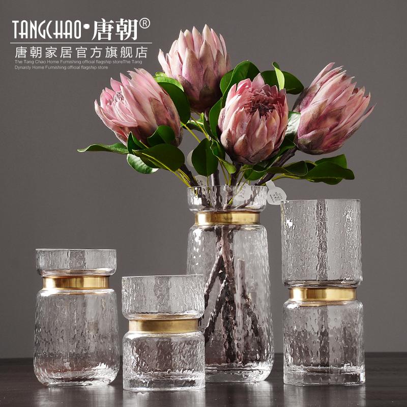 客厅金属插花瓶