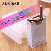 20支香菸个性 整包软壳装 超薄透明塑料烟盒烟壳 创意抗压防潮