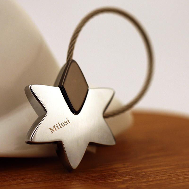 车钥匙扣星星