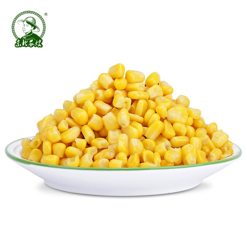 水果玉米罐头