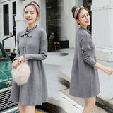 Pregnant women's sweaters Loose Korean knitted sweaters in autumn and winter