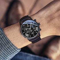 手表新概念电子无指针休闲旋转表盘女款男士个姓创意潮流韩版时尚