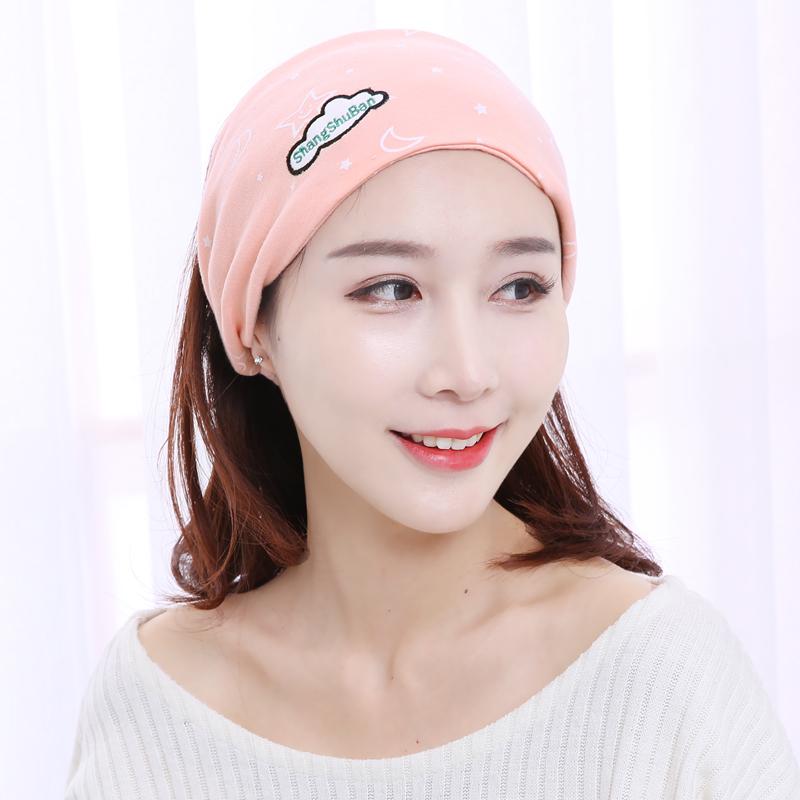 坐月子帽春秋款产后秋冬季女产妇帽孕妇帽子防风保暖头巾时尚用品