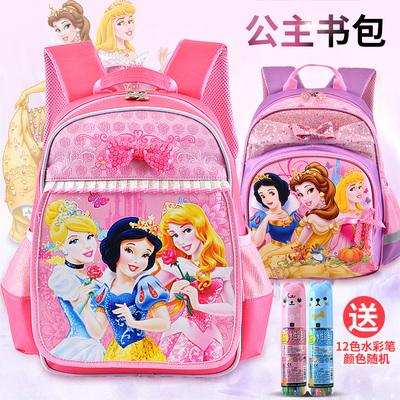 儿童书包女孩幼儿园大班迪士尼白雪公主3-6岁可爱宝宝双肩背包5